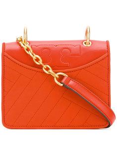 сумка на плечо с диагональной строчкой Tory Burch