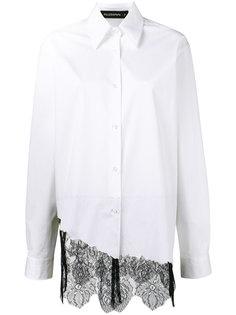 Foxy lace asymmetric shirt  Filles A Papa