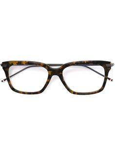 очки  с эффектом черепашьего панциря Thom Browne