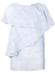 блузка с каскадными оборками Chalayan