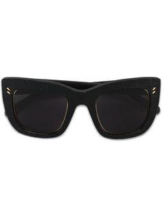 солнцезащитные очки с эффектом крокодиловой кожи Stella McCartney