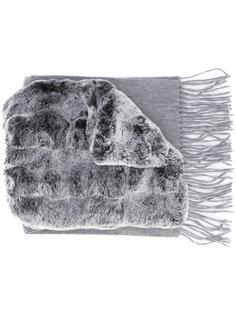 rabbit fur scarf N.Peal