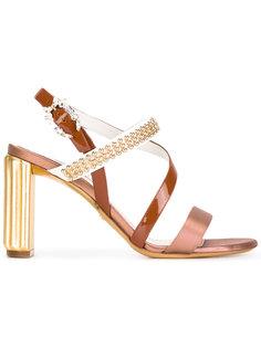декорированные босоножки  Dior
