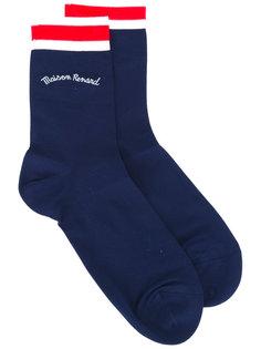 носки в полоску Maison Kitsuné