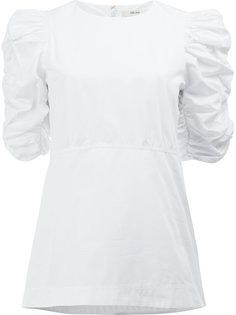 блузка с присборенными рукавами Céline