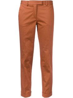 укороченные брюки-чинос Alberto Biani