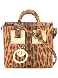 leopard print bag Sophie Hulme