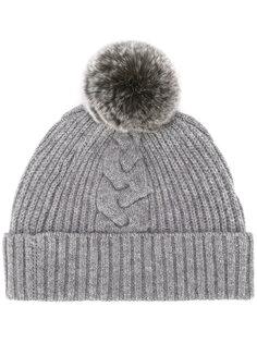 fur bobble hat N.Peal