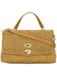 сумка-тоут с откидным верхом Zanellato