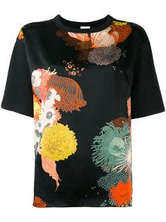 блузка с рисунком Dries Van Noten