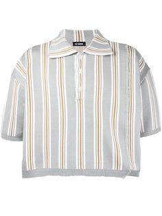 cropped polo shirt  Raf Simons
