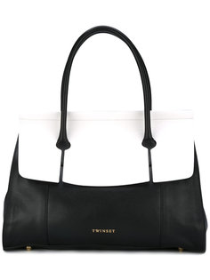 large contrast tote  Twin-Set