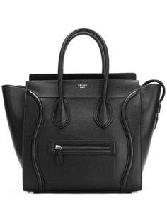 сумка-тоут с принтом логотипа Céline