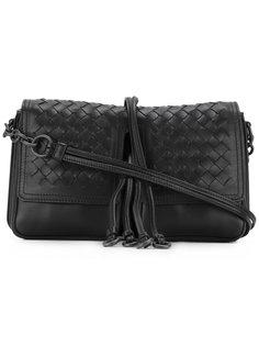 сумка на плечо с двумя отделениями Bottega Veneta