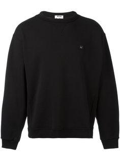 logo patch sweatshirt Acne Studios