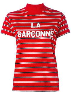 striped high neck top Harmony Paris