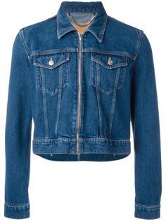 укороченная джинсовая куртка Balenciaga