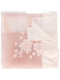 floral sheer scarf Faliero Sarti