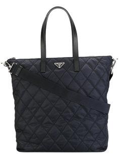 стеганая сумка-тоут  Prada