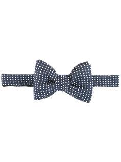 галстук-бабочка с узором в горох Tom Ford