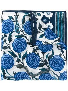 шарф с цветочным рисунком Roberto Cavalli