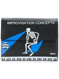 кошелек со скелетом Undercover