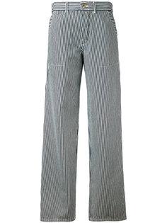 полосатые брюки свободного кроя Chloé