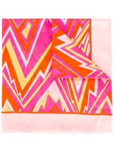zigzag pattern scarf M Missoni