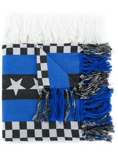 tasseled pattern scarf Undercover