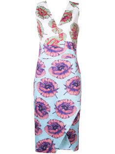 fitted floral dress Altuzarra