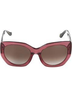 солнцезащитные очки с овальной оправой Balenciaga