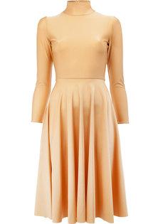 платье миди с плиссировкой Balenciaga