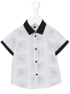 mini logo print shirt Armani Junior
