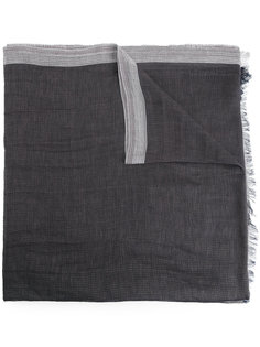 шарф с контрастными панелями Cerruti 1881