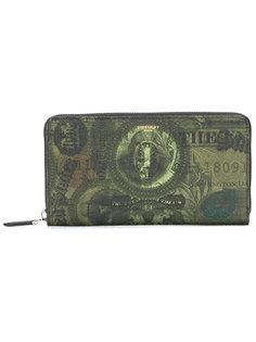 кошелек на молнии с принтом Givenchy