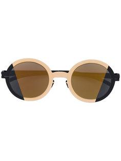 солнцезащитные очки круглой формы Mykita