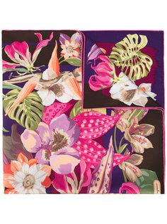шарф с цветочным принтом Hibiscus Salvatore Ferragamo
