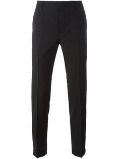 укороченные зауженные брюки Prada