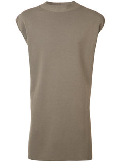 удлиненная футболка Lupetto Rick Owens