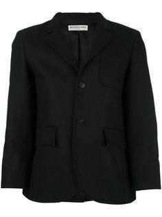 блейзер с нагрудным карманом Balenciaga