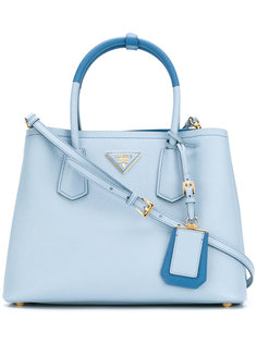 сумка-тоут с логотипом Prada