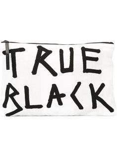 клатч true black Ann Demeulemeester Blanche