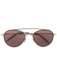 солнцезащитные очки-авиаторы Thom Browne
