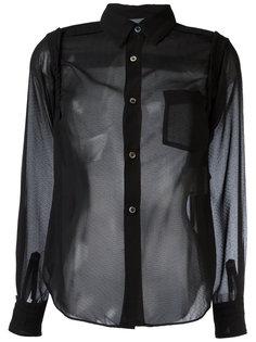 sheer shirt Comme Des Garçons Vintage