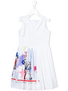расклешенное платье  Simonetta