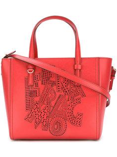 сумка-тоут Pamplona с перфорацией логотипа Salvatore Ferragamo