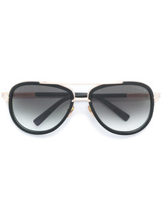 солнцезащитные очки с золотистой отделкой Dita Eyewear