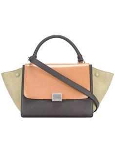 сумка на плечо с контрастным дизайном Céline