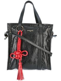 прямоугольная сумка-тоут с кисточкой Balenciaga