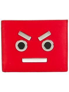 кошелек для карт с металлической отделкой Fendi